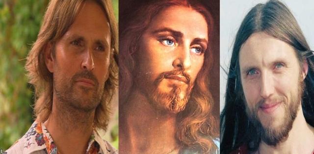 "he looks like ""jesus"""